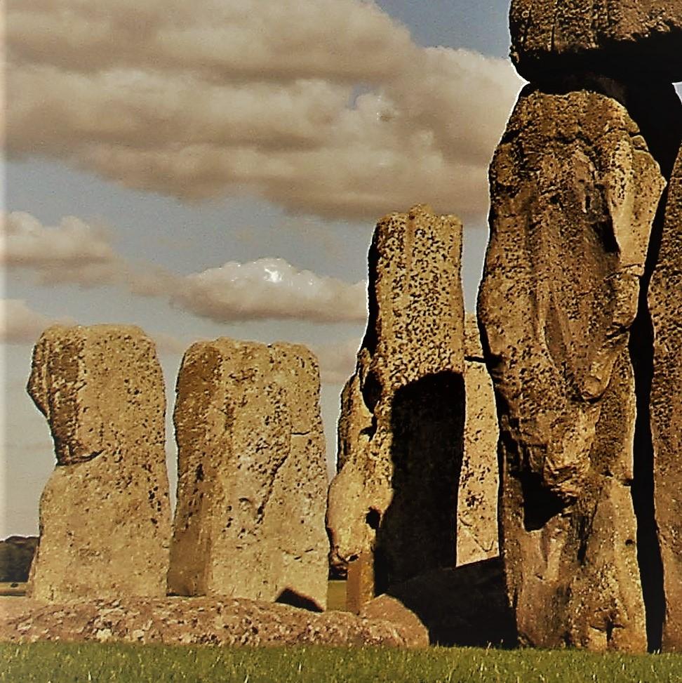 Mary's story: scared at Stonehenge.