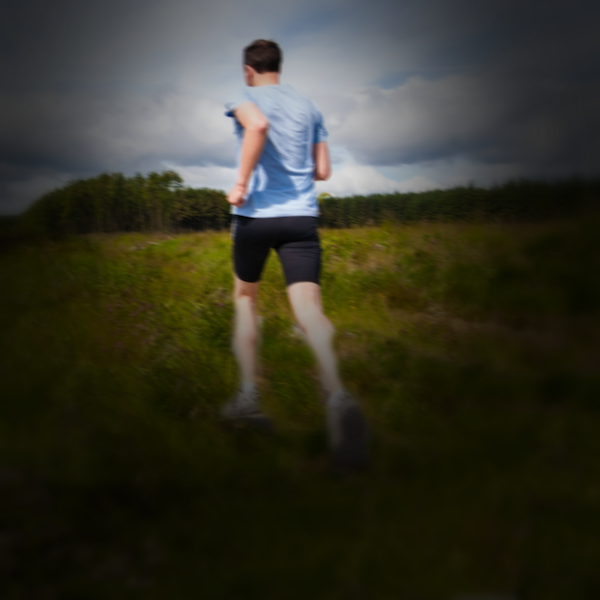 Andrew's story: a runner chased by cows.